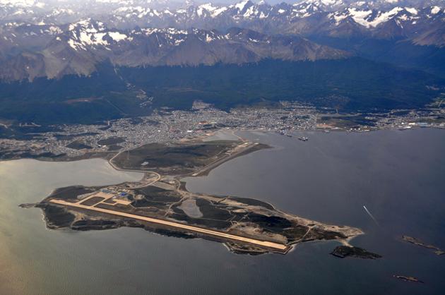 Aeroporto Ushuaia : Ushuaia a era do gelo e cidade fim mundo o